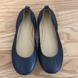 Talbots Navy Blue Ballet Flats